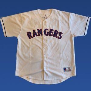 Rangers Rodriquez Baseball Jersey